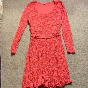 Old Navy flower print dress